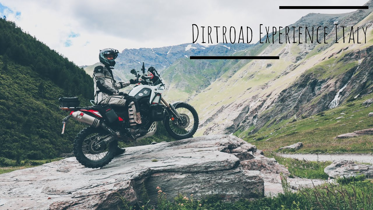 Dirt road experience Italy Promo